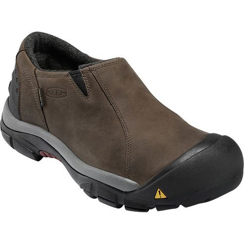 MEN'S KEEN BRIXEN LOW WP SLATE BLACK/MADDER BROWN 1002269