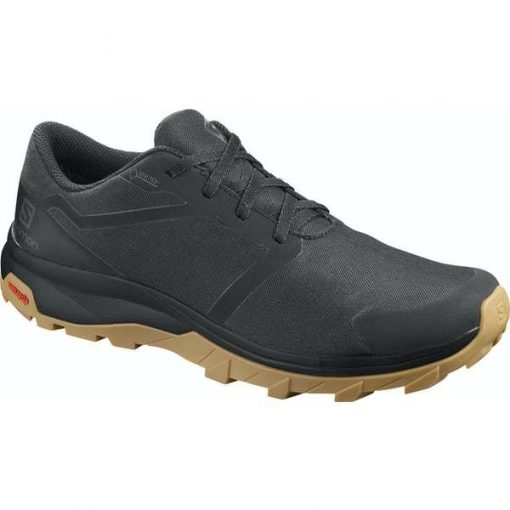 MEN'S SALOMON OUTBOUND GTX BLACK/BLACK/GUM 407917