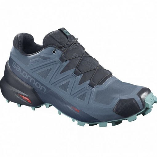 W'S SALOMON SPEEDCROSS 5 GTX COPEN BLUE/NAVY BLAZER/MEADOW 411175