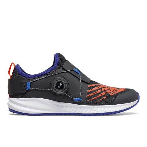 KIDS NB FUELCORE REVEAL BOA BLACK/MARINE BLUE/TEAM ORANGE